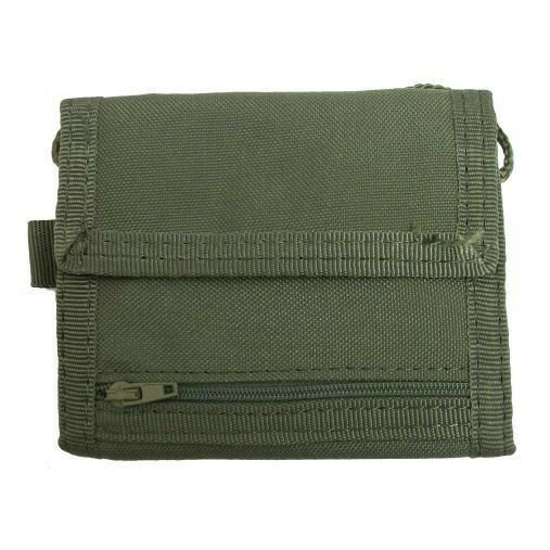 Condor #235 Vault Tri-Fold Wallet OD Green - Tactical Gear Molle Pouch