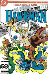 Shadow War Of Hawkman Comic 4 Copper Age First Print 1985 Isabella DC