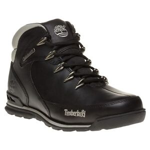 timberland mens euro rock hiker boots black