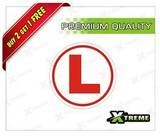 XTREME-in L BOARD LEARNING DRIVER BOARD REFLECTIVE STICKER FOR CARS (5 inch)