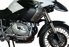 Paracilindri-paramotore tubolare in ferro verniciato Argento EVO - BMW R 1200 Gs