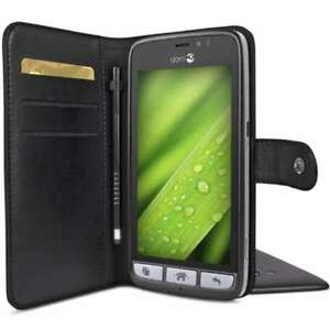 best loved c0088 c6df5 Details about Doro Wallet Case for Liberto 822 /8028 /8030 /8031 in Black  with Stylus