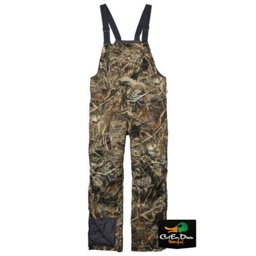 REALTEE MAX-5 CAMO NEW BROWNING WICKED WING INSULATED BIBS