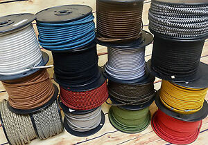 Swell 25 Cloth Covered 2 Wire Electrical Cord Vintage Style Fabric Wiring Digital Resources Unprprontobusorg