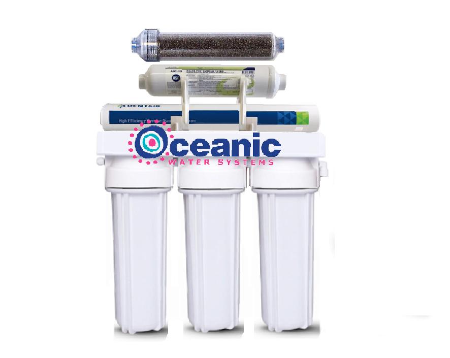 1 1 RATIO Low Waste  6 Stage RODI Aquarium Reverse Osmosis Water System 75 GPD