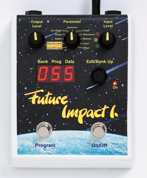 Panda Audio Midi Future Impact I Bass Synth Pedal New akai deep impact