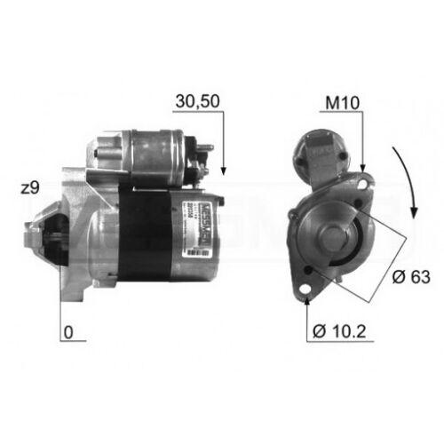 MOTORINO AVVIAMENTO RENAULT THALIA 1.2 16V 55KW 75CV 04//2002/> TS8E6 ND165 D7E39