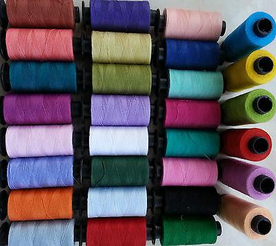 Premium Quilting Patchwork 100/% algodón hilado de Rosca 10 X 500 metros Por Carrete
