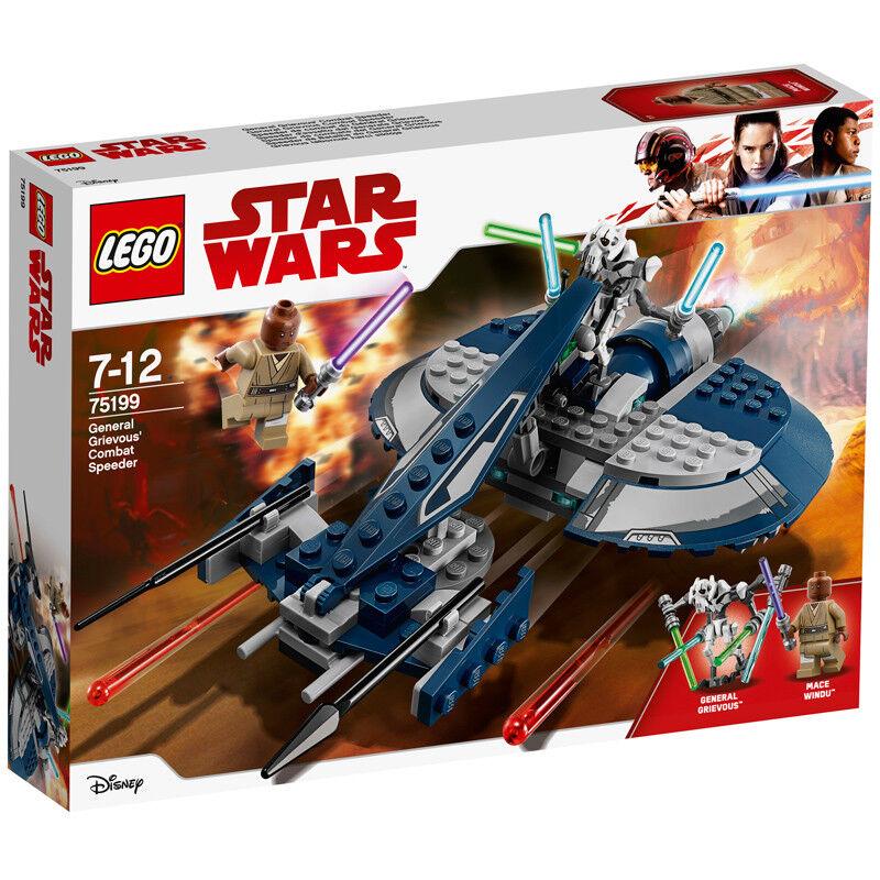 Lego Lego Lego Star Wars General Grievous' Combat Speeder 75199 NEW c88042