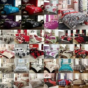 New Manhattan Duvet// Quilt Cover Bedding Sets With Pair of Pillow Case All Size