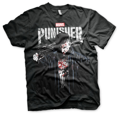 Officially Licensed Marvel/'s The Punisher sang tee-shirt Homme S-XXL tailles