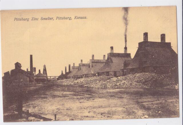 KS, Coffeyville, Kansas, Ozark Zinc Oxide Smelter, Mining