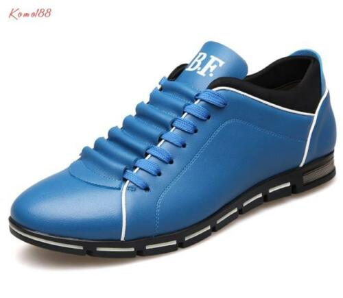 Details about  /1 Mens round toe lace up casual running sneaker dress Shoes plus size