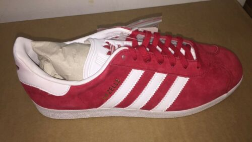 Red para Suede Gazelle Gold zapatillas White Adidas Power Originals hombre tqw868R