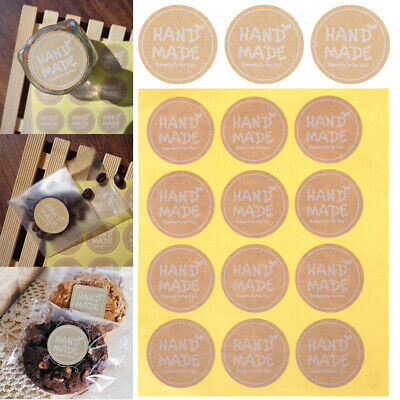 70pcs Hand made Long label sticker DIY Hand Made Gift //Cake Paper Sticker