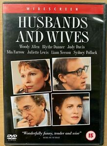 Husbands-and-Wives-DVD-1992-Woody-Allen-Relationship-Drama-w-Liam-Neeson
