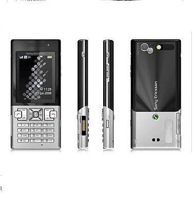 Sony Ericsson T700 - Black on Silver  (Unlocked) 3G Cellular Phone Free Shipping