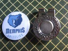 GOLF / Memphis Grizzlies Logo Golf Ball Marker/with Magnet Hat Clip New!!