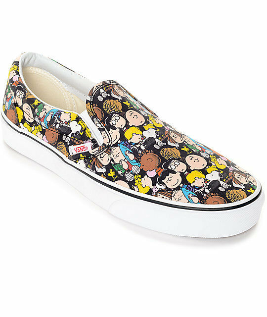 VANS x PEANUTS SNOOPY (ON THE GANG) UNISEX SLIP-ON SHOES BRAND NEW