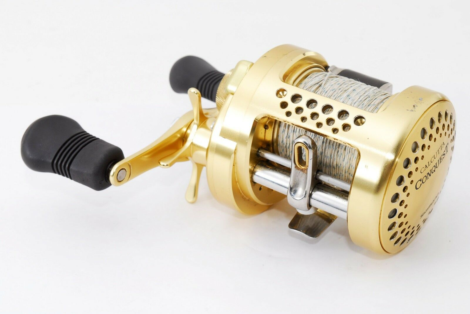 SHIMANO CALCUTTA CONQUEST handed 400 Right handed CONQUEST reel USED from Japan  E478 c83415