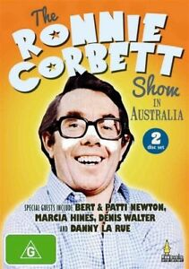 The-Ronnie-Corbett-Show-DVD-2-Disc-Set-NEW-SEALED-Bert-Newton-Marcia-Hines