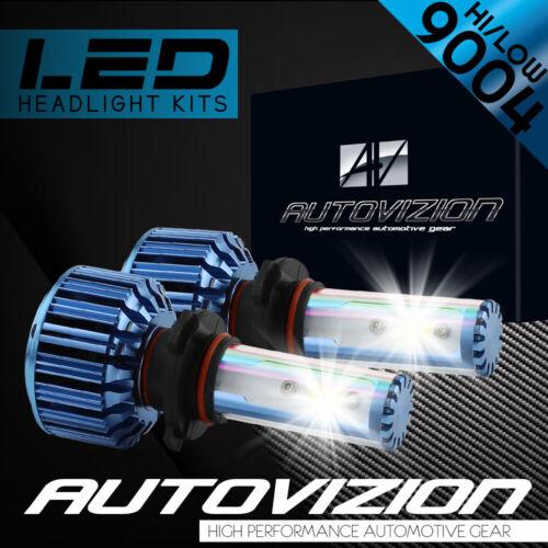120W 12800LM LED headlight Kit 9004 HB1 Hi /& Low Beams 6000K White Pair Bulbs