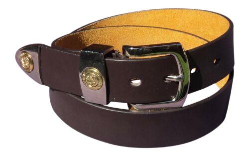 """Homme jeans en cuir ceinture 28/"""" 48/"""" Boîte Cadeau option par Milano ® noir ou marron"""