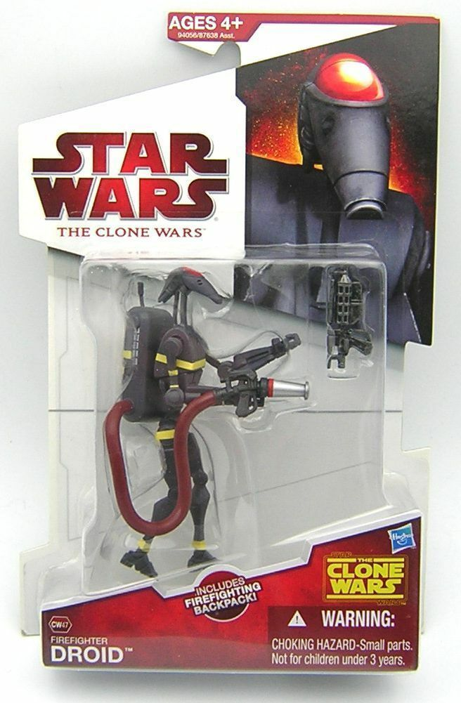 Star Wars Clone Wars CW47 Firefighter Droid