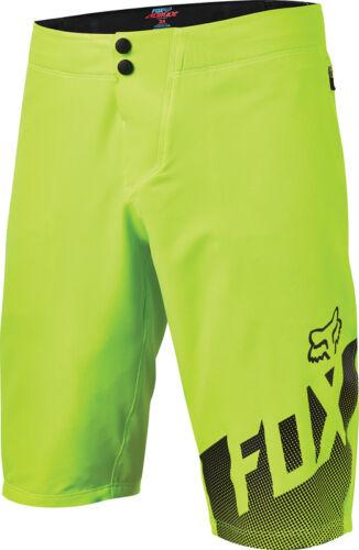 Fox Altitude MTB Shorts 2016 - Fluro Yellow Sizes 34 36 38