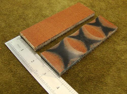"""5/"""" par de varios colores de lona escalas de madera MICARTA manejar hacer espacios en blanco Craft 5023"""