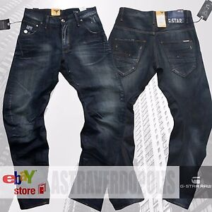 G-Star RAW loose tapered Men/'s jeans DENIM 50223 Premium G STAR pants W29 L34