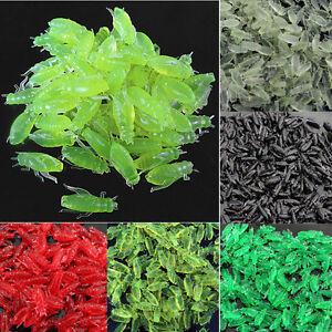 10-50-100-X-New-Soft-Silicone-Grasshopper-Shape-Bait-fake-fishing-lure-mixed-G-r