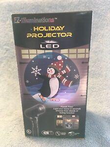 EZ-ILLUMINATIONS-HOLIDAY-PROJECTOR-LED-PENGUIN