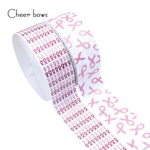 75mm-2yard-Grosgrain-Ribbon-Glitter-AIDS-Ribbon-DIY-Hair-bows-Handmade-Materials