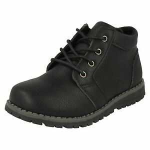 JCDees-N2042-Boy-039-s-Black-Synthetic-Casual-Ankle-Boots