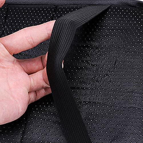 MITSUBISHI Carbon Fiber Car Center Console Armrest Cushion Mat Pad Cover