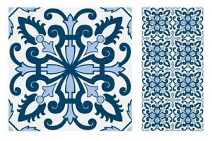 "Kitchen Bathroom DIY Sticker Tile 6/"" Monchrome Vinyl Tiles Stickers 4/"" t43"