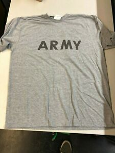 US-Army-T-Shirt-Physical-Fitness-Uniform-Ipfu-x-Large-Reflector