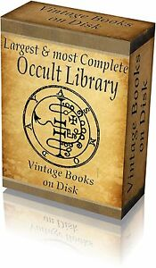 Library of occult 3000 vintage old books on 4 dvds images image is loading library of occult 3000 vintage old books on fandeluxe Images