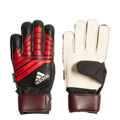 adidas Predator Fingersave Junior Torwarthandschuhe rot/schwarz/weiß [CW5598]