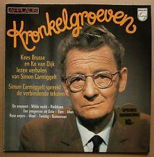 LP Simon Carmiggelt / Kees Brusse / Ko van Dijk - Kronkelgroeven  Philips Mint
