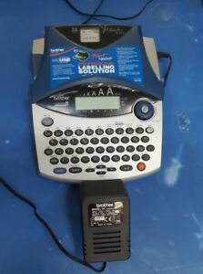 Brother-PT-1950-1960-Electronic-Label-Maker-Printer-W-CHARGER-R1S6-3B1