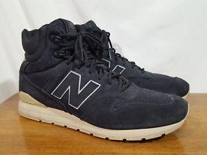 a67e52844ef899 Men s New Balance MRH696BT Black Suede Classic Boot Style Sneaker ...