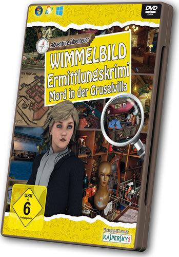 Wimmelbild - Ermittlungskrimi            PC             !!!!!! NEU+OVP !!!!!!