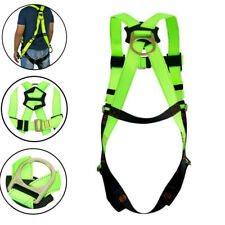 45mm Full Body Safety Harness Fall Protection 3d Ring Back Support Belt