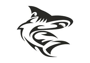 Twisting-Turning-Shark-stencil-350-micron-Mylar-not-thin-stuff-TaT0055