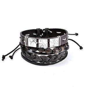 3x Armband Totenkopf Set Aus Metall Für Damen Und Herren Modeschmuck