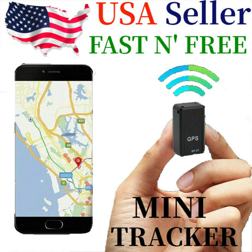 Magnetic Mini GPS Tracker Real Time Tracking Locator Car Vehicle Spy GSM GPRS US