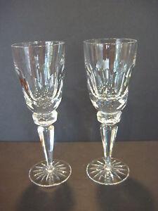 Pair-Of-Ceska-Regency-Discontinued-Heavy-Crystal-Water-Goblets-9-1-8-034-Tall