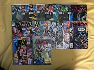 Lot-of-20-Namor-the-Sub-Mariner-1990-1st-Series-039-s-from-29-57-Annuals-1-2-4